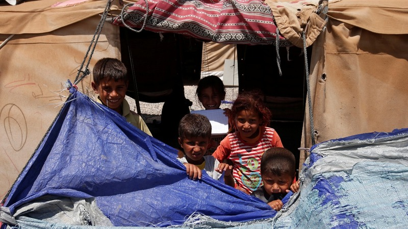 In refugee camps and ruins, Mosul misery far from over