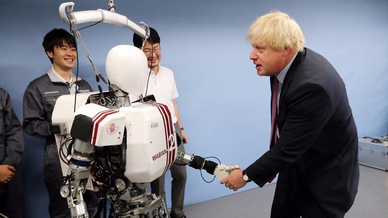 INSIGHT: Boris Johnson's bionic diplomacy in Japan