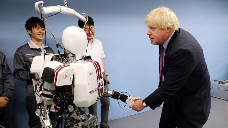 INSIGHT: Boris Johnson's bionic diplomacy in Japan