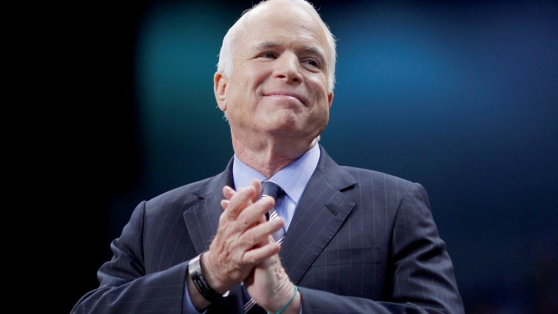 McCain's absence felt on personal, political levels