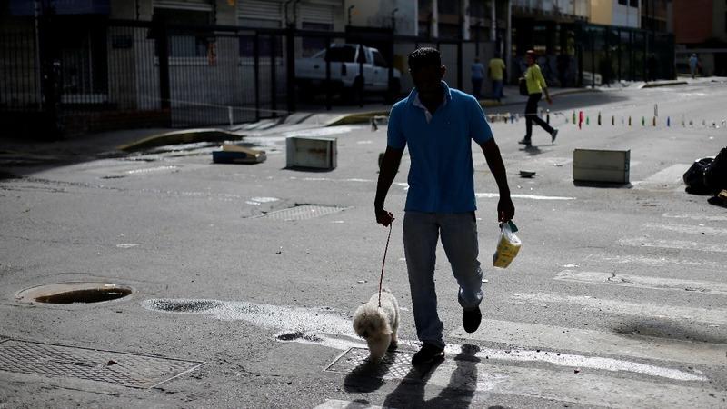 Anti-Maduro strike paralyzes parts of Venezuela