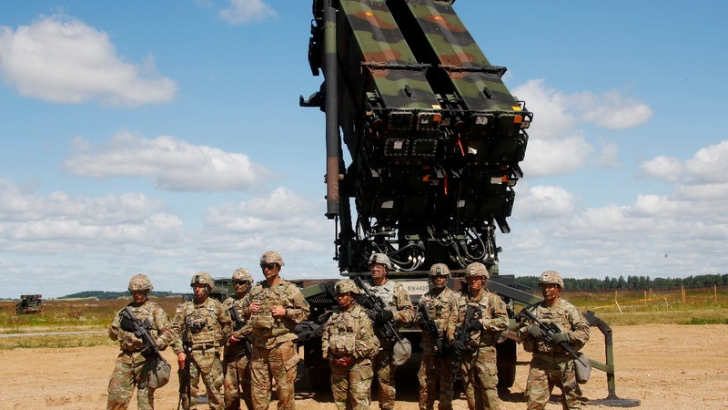 First U.S. anti-aircraft missiles deploy to Baltics