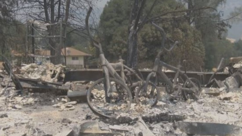 Residents, homes 'under attack' by California fires