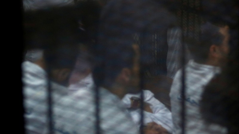 Egypt sentences 28 to death over prosecutor killing