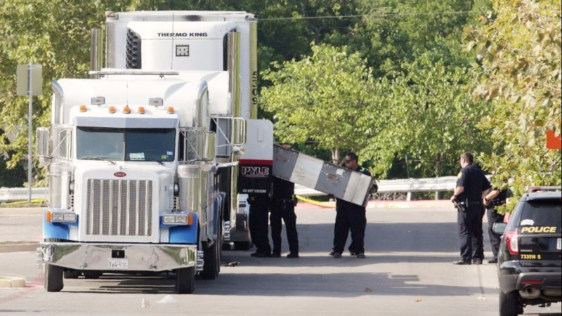 Driver due in court after bodies discovered in truck