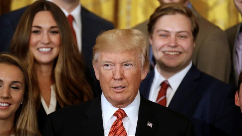 VERBATIM: Trump tells reporter to be 'quiet'