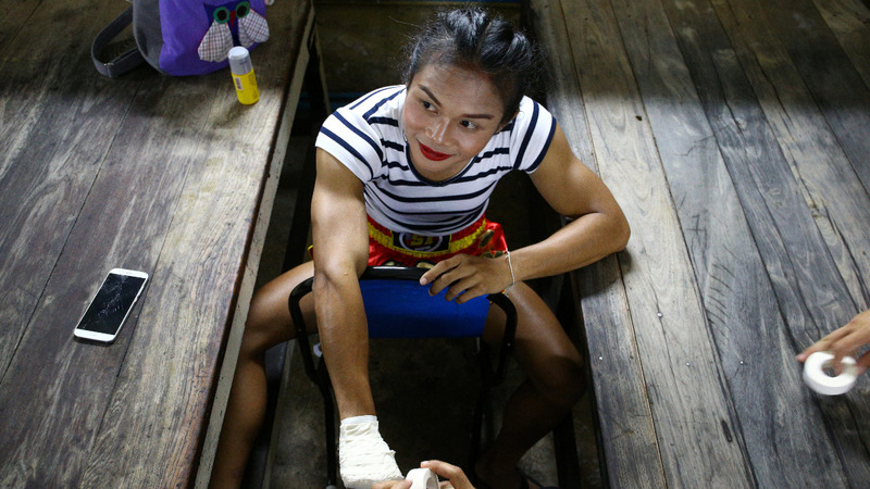 Thai boxer winning the fight for LGBT acceptance