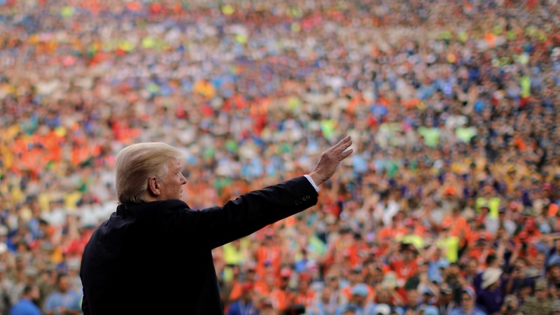 VERBATIM: Trump gives Boy Scouts a taste of DC rancor