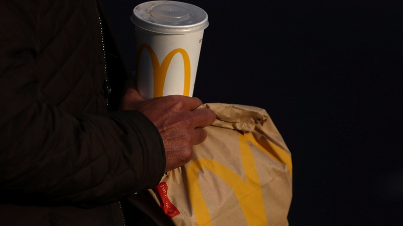 McDonald's shares hit record as premium sales sizzle