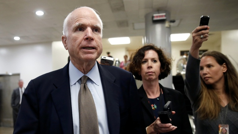 VERBATIM: McCain makes plea to work together on healthcare reform