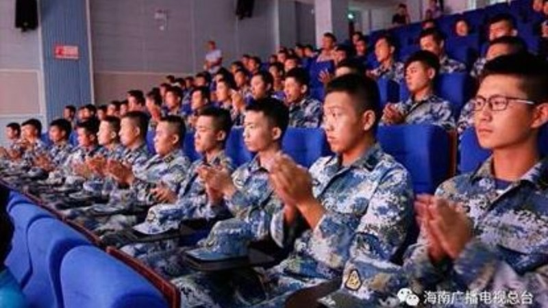 Beijing opens a movie theater in the South China Sea