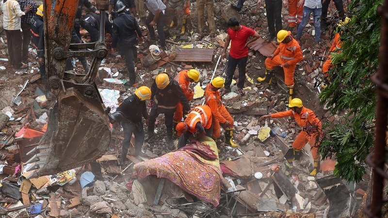 Death toll rises in Mumbai building collapse