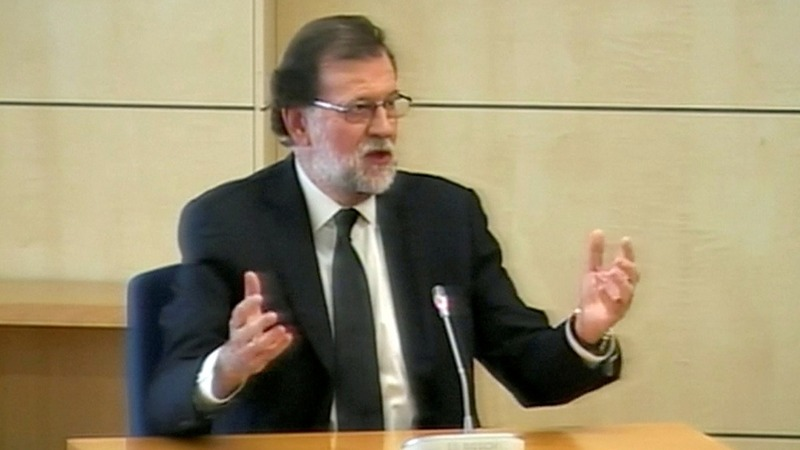 Rajoy becomes first Spanish PM to testify in court