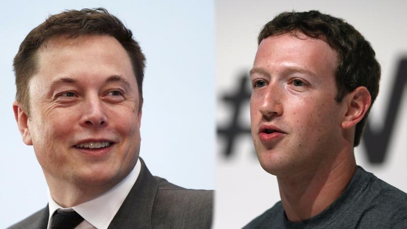Zuckerberg and Musk spar over killer robots
