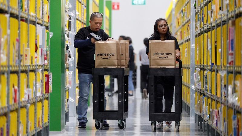 Amazon takes on Alibaba in Southeast Asia