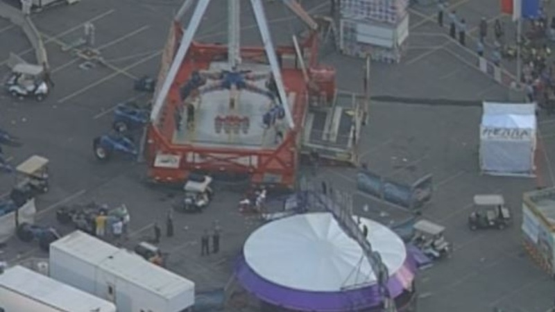 'I see someone fly out': Witness at Ohio State Fair