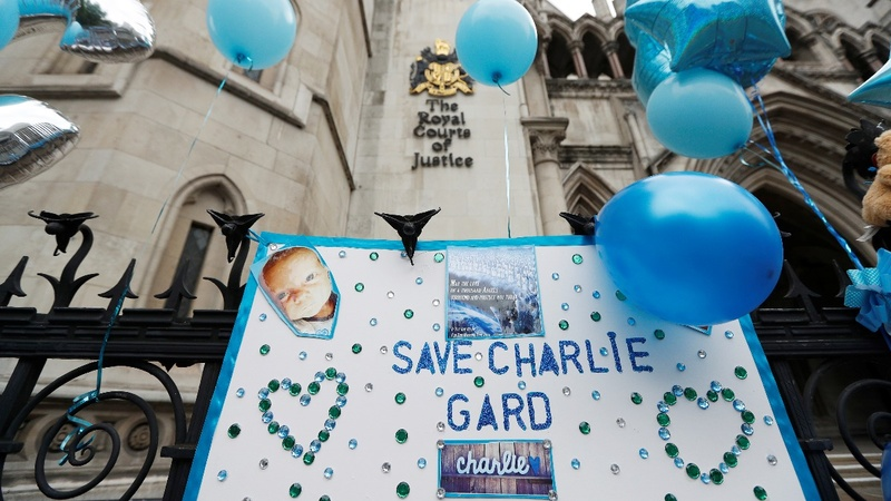 Charlie Gard to be moved to hospice to die