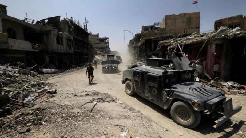 Iraqi forces committed Mosul 'war crimes' - HRW