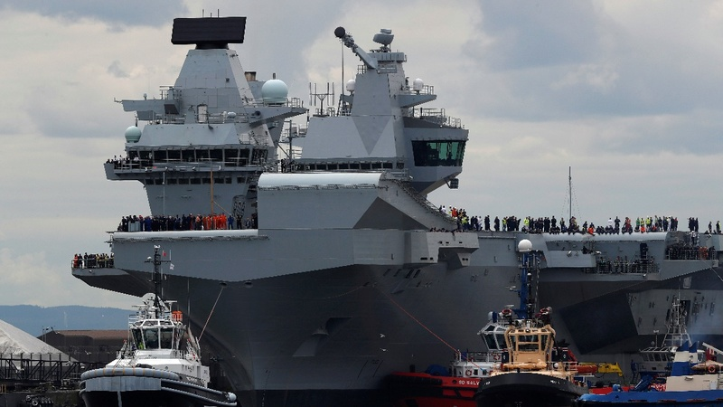 Britain set to patrol South China Sea