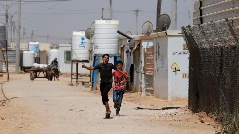 Syrian kids in Jordan missing out on school