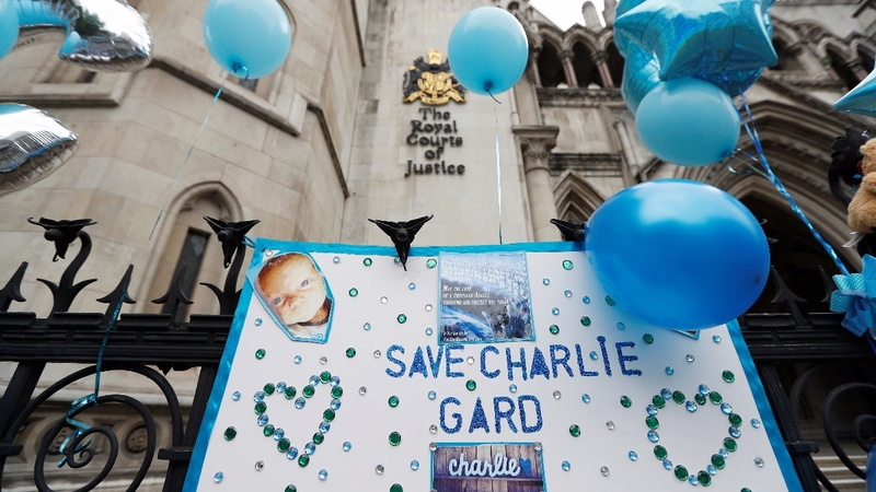 'Our beautiful boy', baby Charlie Gard, has died