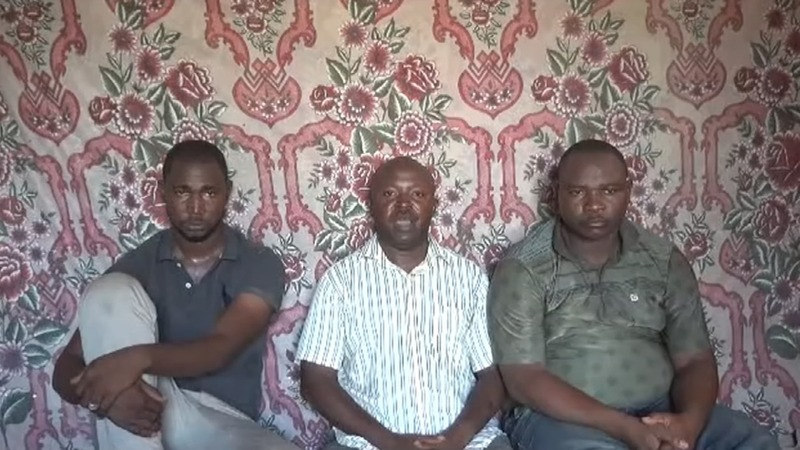 Boko Haram militants release hostage video