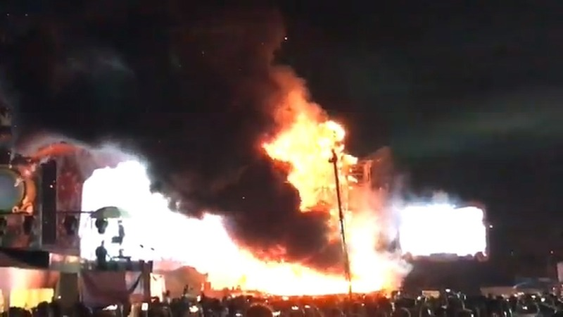 INSIGHT: Fire breaks out at festival in Barcelona