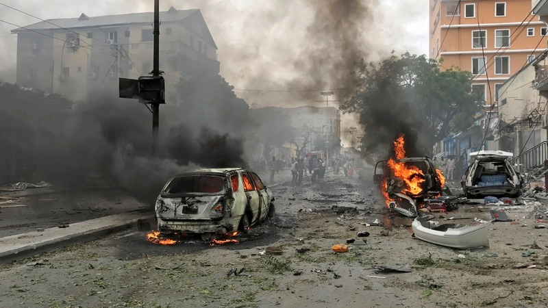 At least six killed in Somali car bomb attack