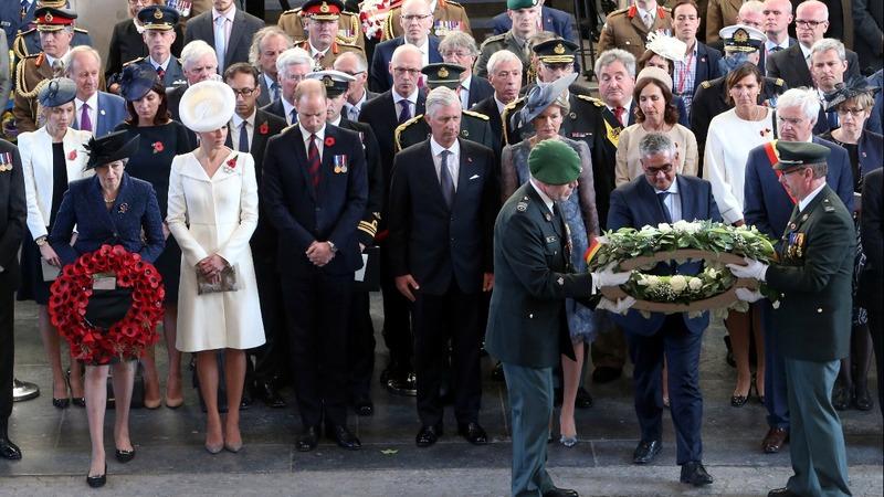 INSIGHT: Royals mark Passchendaele centenary