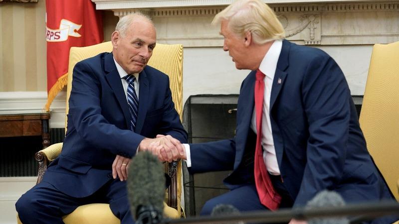 VERBATIM: Trump praises new Chief of Staff