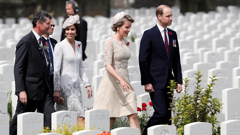 INSIGHT: Royals mark centenary of WWI battle
