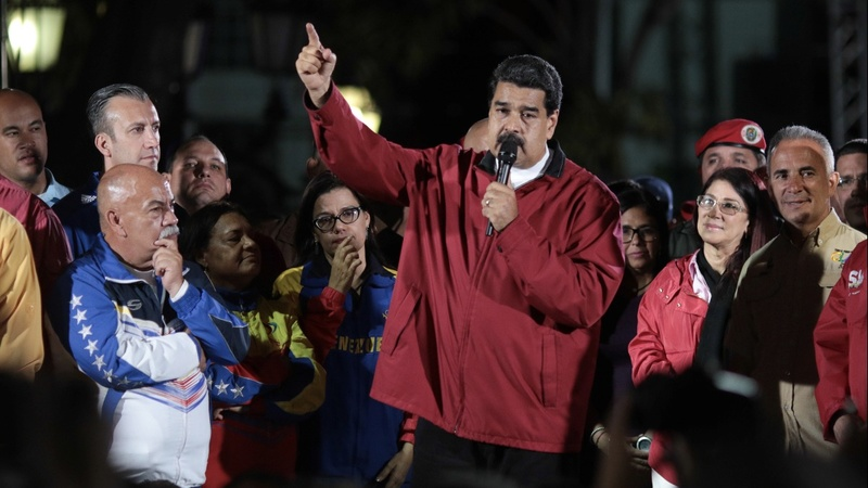 U.S. freezes assets of Venezuelan President Maduro