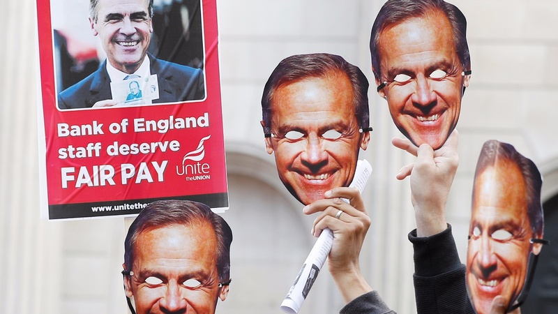 First strike at Bank of England for 50 years