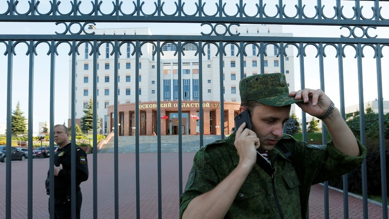 Three killed in Russia courthouse shooting