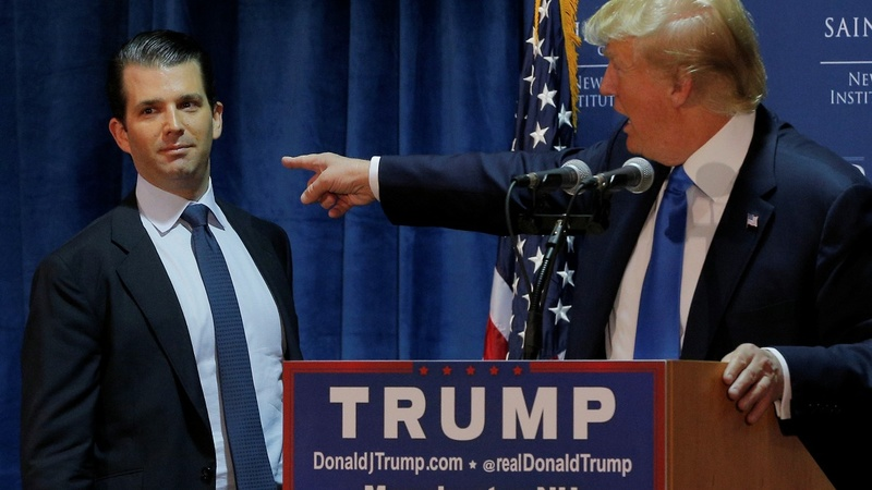 Trump 'weighed in' on Don Jr.'s statement