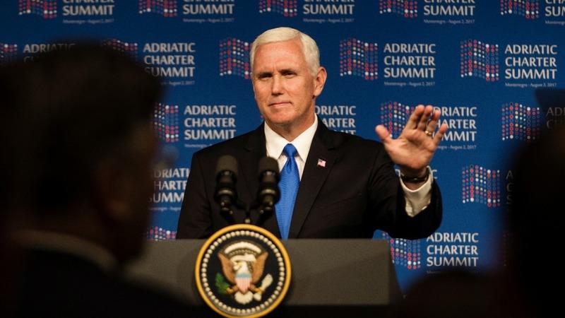 Go West, U.S. VP Pence tells Balkans