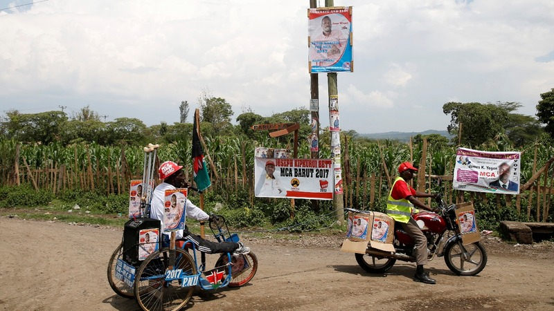 Murder and mayhem preview Kenya's election day
