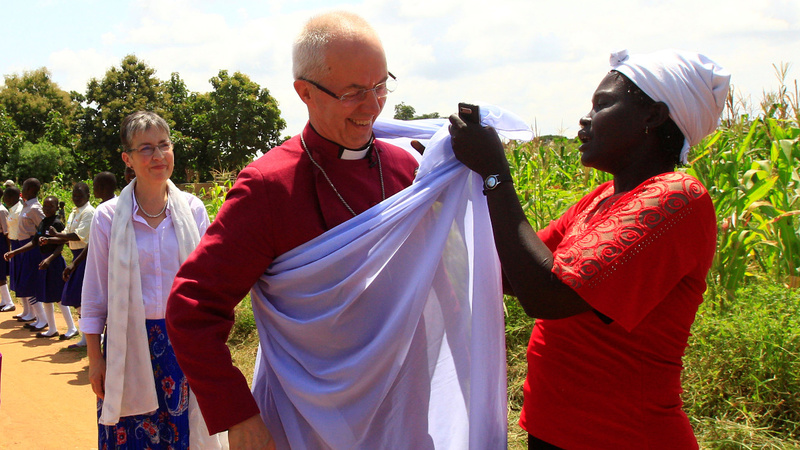 INSIGHT: Archbishop of Canterbury meets refugees in Uganda