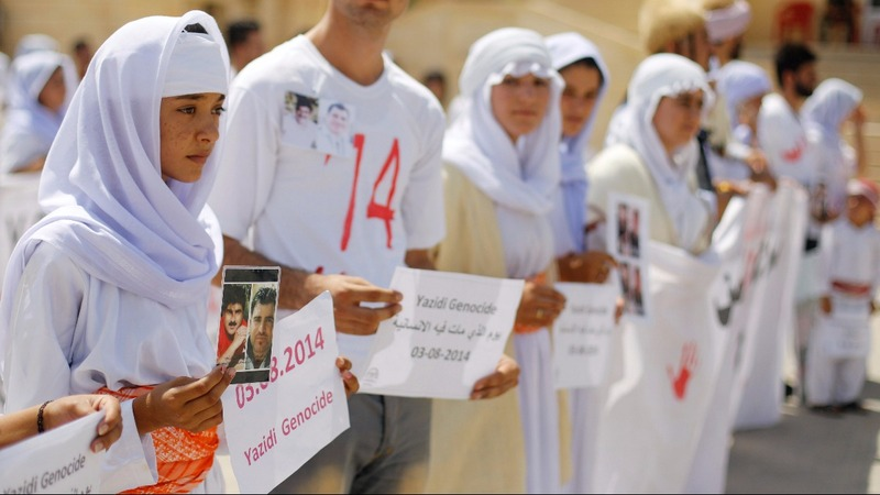 Yazidis still suffer three years after I.S. attack