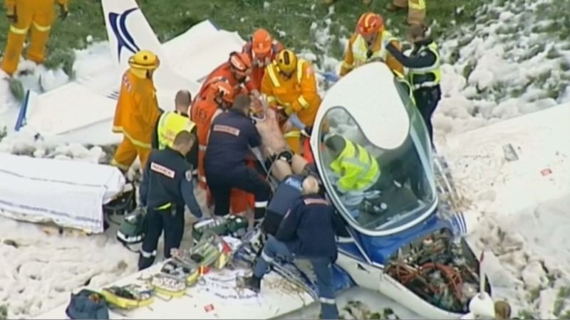 INSIGHT: Two injured in Australian plane crash
