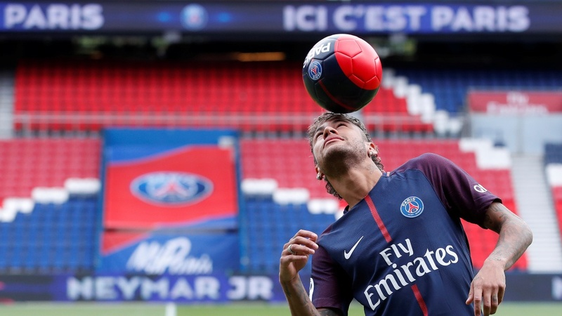 Neymar unveiled as most expensive soccer player
