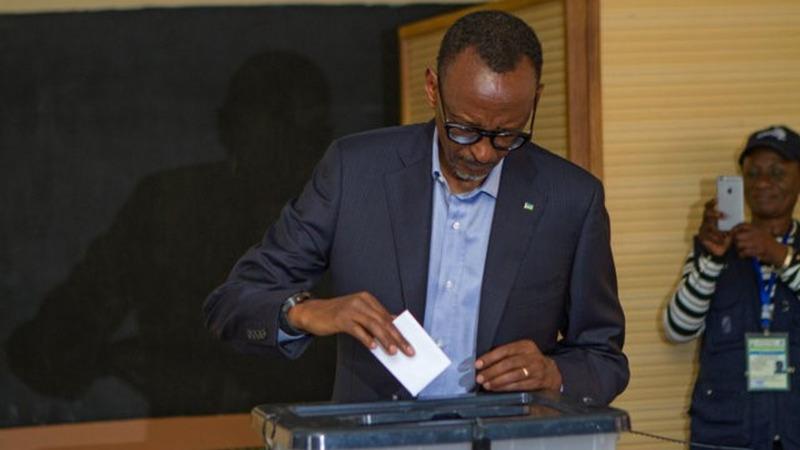 Rwanda's Kagame wins third term in crushing election win