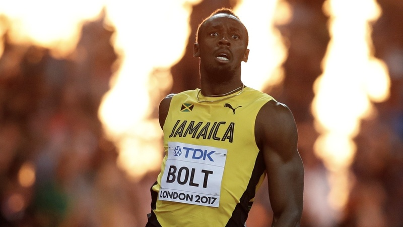 Usain Bolt upset in farewell sprint