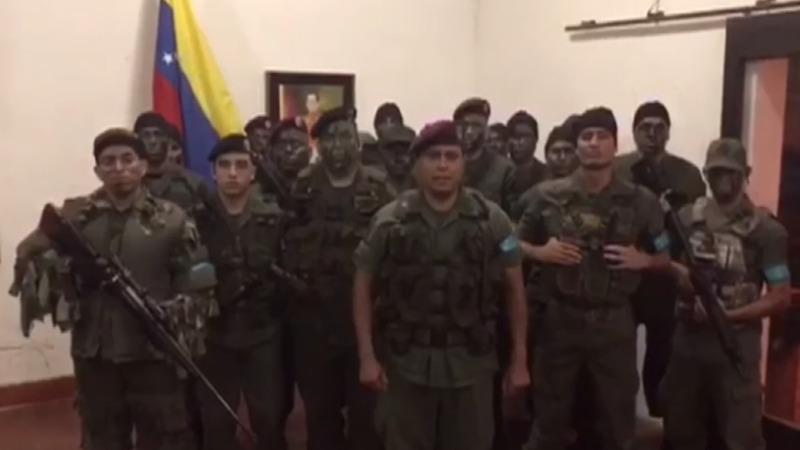 Venezuela crushes military rebellion