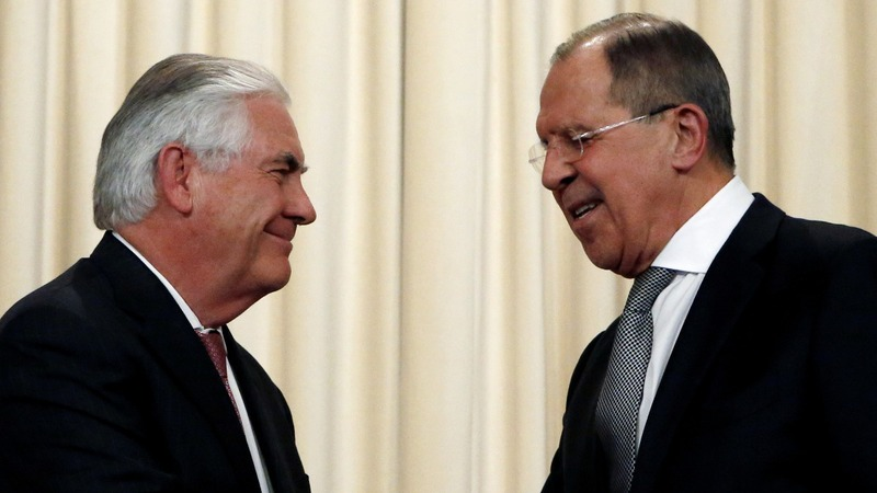 Tillerson talks sanctions with Russia's Lavrov