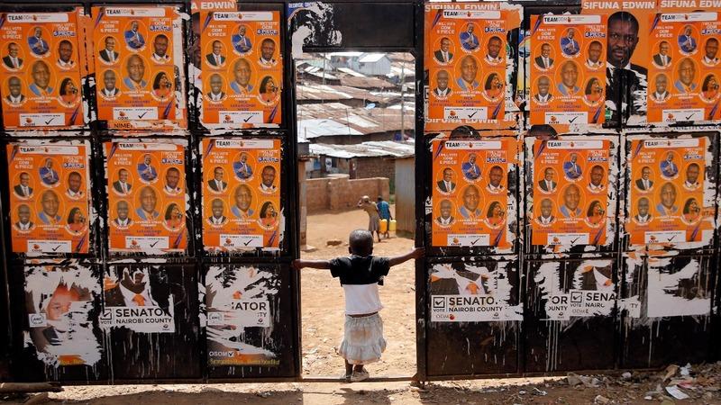 Kenya votes in tense election