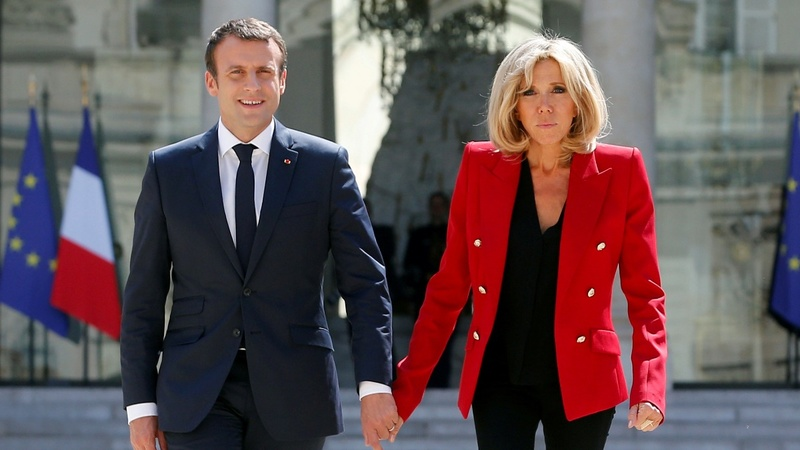 Petition opposes Brigitte Macron 'First Lady' status