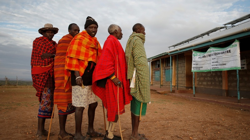 Tensions high as Kenya counts votes