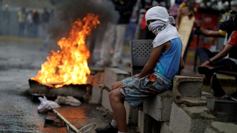 Fears of armed insurrection in Venezuela
