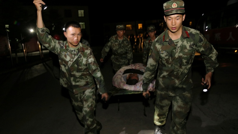 Tens of thousands evacuated after deadly China quake